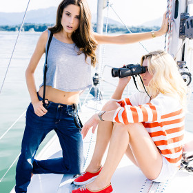 segelyacht fashion shoot by ruth schmidt cover